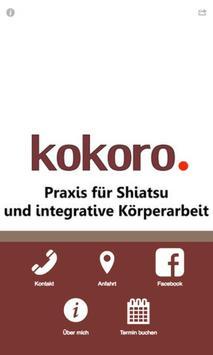 Körperheilraum Kokoro Hamburg poster