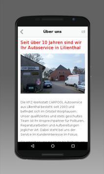 CARPOOL Autoservice screenshot 1