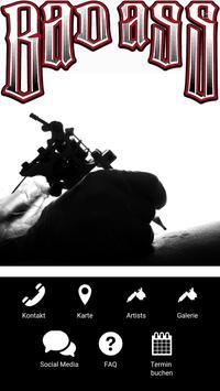 BadAss Tattoo Augsburg poster