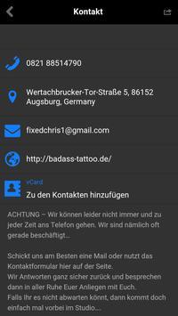 BadAss Tattoo Augsburg screenshot 1