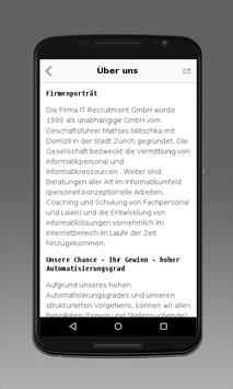 IT Recruitment GmbH screenshot 1