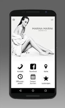 Marina Marini Cosmetics poster