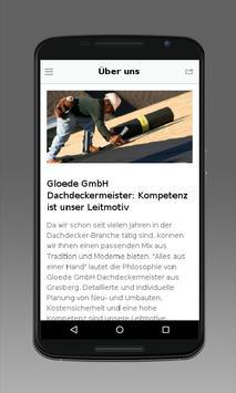 Gloede GmbH Dachdeckermeister poster