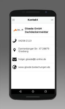 Gloede GmbH Dachdeckermeister apk screenshot