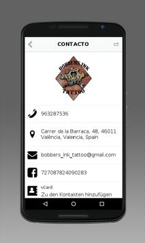 Bobbers Ink Tattoo apk screenshot