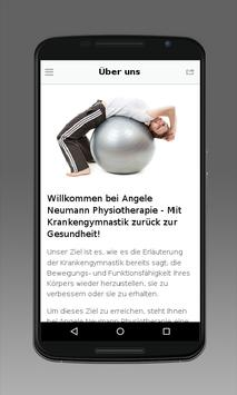 Angele Neumann Physiotherapie poster