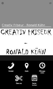 Creativ Friseur - Ronald Kühn poster