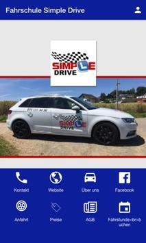 Fahrschule Simple Drive poster