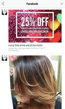 Crissel NY Hair Salon apk screenshot