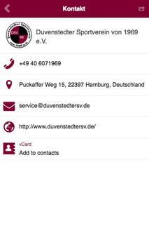 Duvenstedter SV apk screenshot