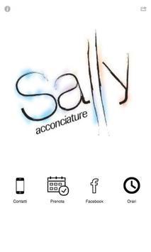 Sally acconciature poster