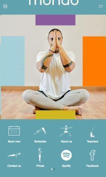 mondō yoga poster