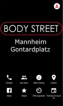Bodystreet Mannheim Gontardpl. poster