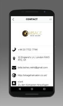 Visage Hair Salon screenshot 2