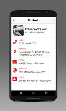 Folienprofi24.com screenshot 1