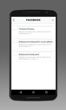 Restaurant Bollywood apk screenshot