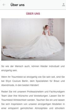 ELIYZI COUTURE Berlin screenshot 1