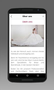 ELIYZI COUTURE Berlin apk screenshot