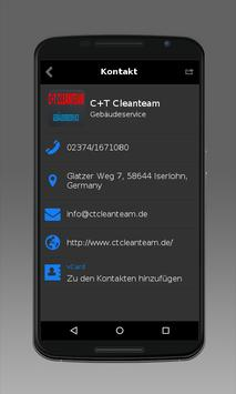 C+T Cleanteam apk screenshot