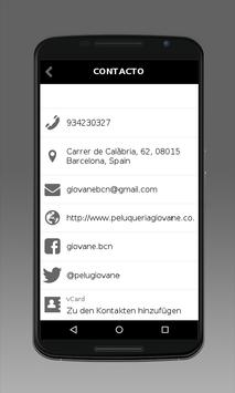 Peluquería Giovane apk screenshot