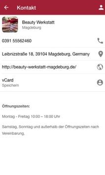 Beauty Werkstatt Magdeburg screenshot 1