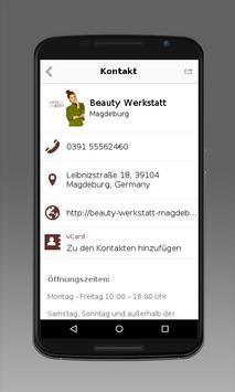 Beauty Werkstatt Magdeburg apk screenshot