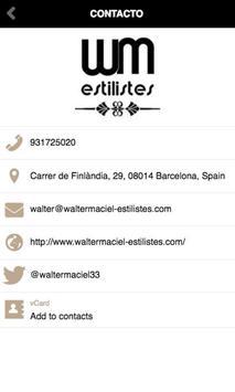 Walter Maciel Estilistes screenshot 1