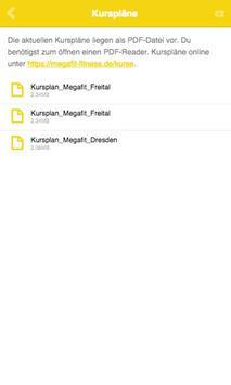 Megafit Fitnessstudio apk screenshot