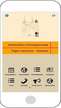 Papst Johannes Heessen poster