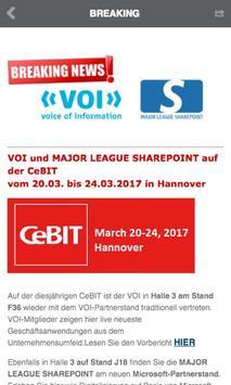 VOI - voice of information apk screenshot