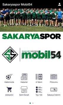 Sakaryaspor Mobil54 poster