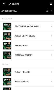 Sakaryaspor Mobil54 screenshot 3