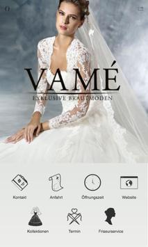VAMÉ Exklusive Brautmoden poster
