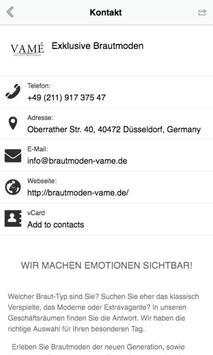 VAMÉ Exklusive Brautmoden apk screenshot