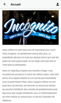 Incognito Barbhair Shop screenshot 1