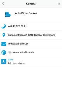 Auto Birrer AG apk screenshot
