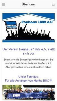 Fanhaus 1892 apk screenshot