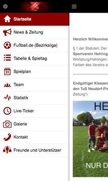 TSV Hehlingen - Fußball poster