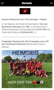 TSV Hehlingen - Fußball screenshot 1