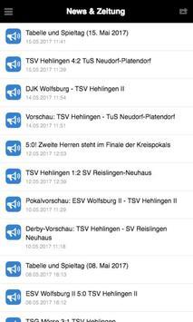 TSV Hehlingen - Fußball screenshot 2