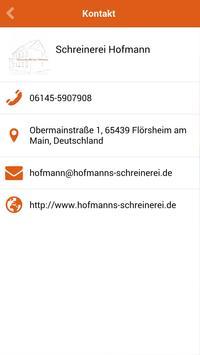 Schreinerei Hofmann apk screenshot