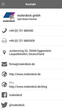 Maler Deck Opti-Maler screenshot 6