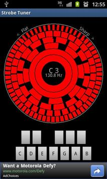 Stroboscopic Tuner screenshot 1