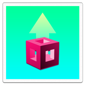Jump Box Escape  - Bouncy Cube icon