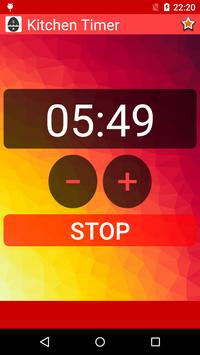 Kitchen Timer screenshot 1