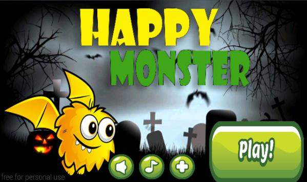 Happy Monster poster