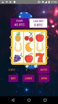 Bitcoin Slot Machine screenshot 1