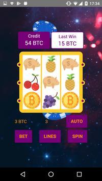 Bitcoin Slot Machine screenshot 2