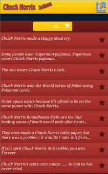 Top 100 Chuck Norris jokes screenshot 1