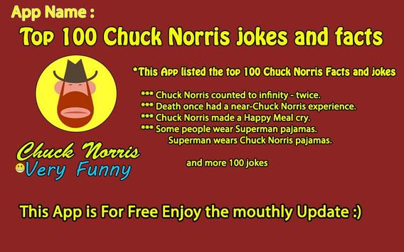 Top 100 Chuck Norris jokes screenshot 7